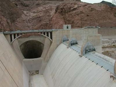Lake Mead Over Flow