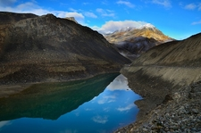 Lake Near Lahaul & Spiti Valleys In Himachal Pradesh