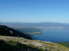 Lake Ohrid From Galicica