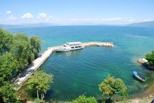 Lake Ohrid From St. Naum