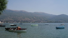 Lake Ohrid From The Old City