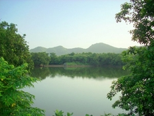 Lake On Girnar Taleti
