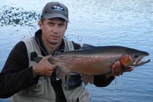 Lake Otamangakau Fish Catch