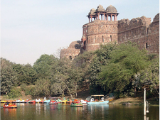 Lake Outside Purana Qila