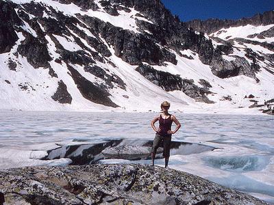 Lake Solitude At Grand Tetons Of Wyoming USA