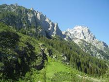 Lake Solitude Hiking Trail - Grand Tetons - Wyoming - USA