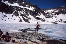 Lake Solitude Trail At Grand Tetons - Wyoming - USA