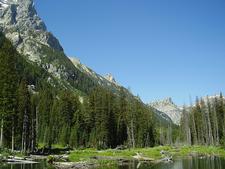 Lake Solitude Trail Views - Grand Tetons - Wyoming - USA