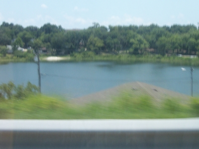Lake  Sunnyside From    Clermont    Florida