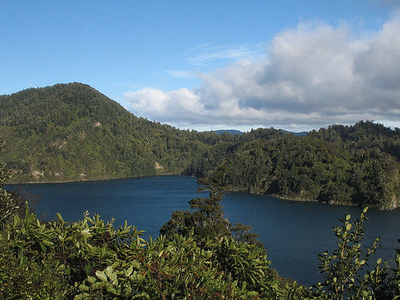 Lake Waikaremoana - Te Urewera National Park - New Zealand
