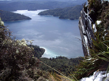 Lake Waikaremoana Walk Views - New Zealand