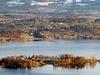 Lake Zurich And The Island Of Ufenau