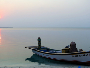 Lagoons of Lakshadweep