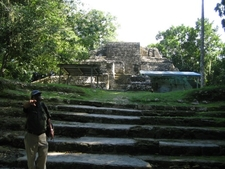 Lamanai Ruins Stairway - Orange Walk District - Belize