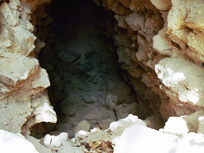 La Milpa Cave - Orange Walk District - Belize