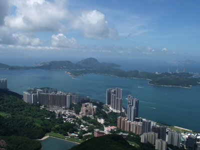 Lamma  Island And  Pok  Fu  Lam
