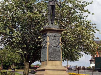 Lancashire  Fusiliers Tower  Gardens