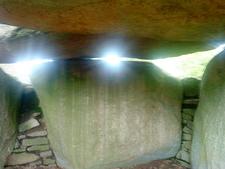Lancken Granitz Dolmen Interior - Rügen - Germany