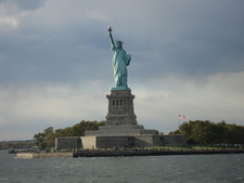 Landscape Photo Of Statue Of Liberty In The Afternoon