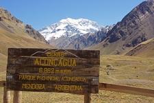 Landscape Within Aconcagua National Park