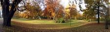 Landskrona Park In Autumn