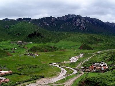 Langmusi Landscape