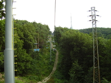 A Chairlift To Koliba From The City