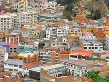 La Paz - Bird's Eye View
