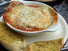 Lasagne With Garlic Bread - Gibraltar