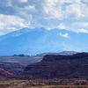 La Sal Mountain Range - Utah