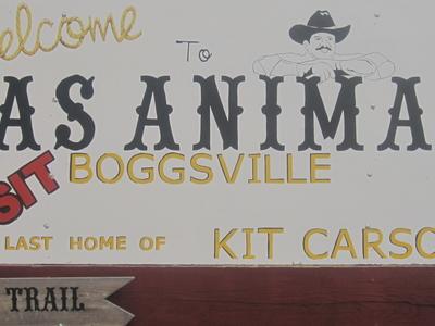 Las Animas Welcome Sign