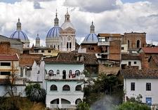 Las Cupulas De La Catedral - Cuenca Ecuador