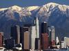 LA Skyline Mountains