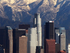 L A  Skyline  Mountains 2