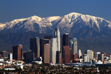 L A Skyline Mountains