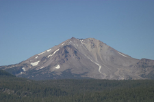 Lassen Peak And Devastated Area