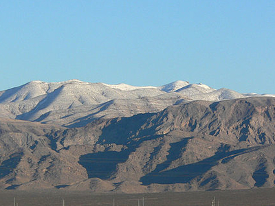 Las Vegas Range From Cannery