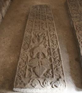 Lauda Funeraria Izqda De La Cripta De Satan Leocadia