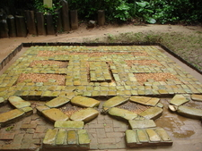 Three Buried Mosaics Or Pavements