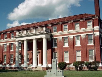 Lawrence County Courthouse In Monticello