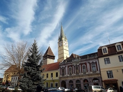 Leaning Tower Of Medias - Sibiu County