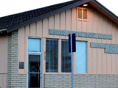 Lebec  California Post Office