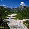 Lech-Flußlandschaften Tyrol Austria