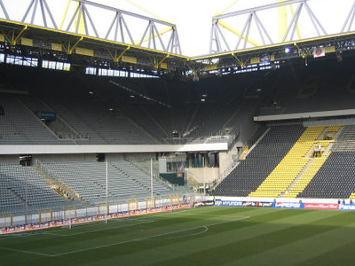 Westfalenstadion Seen From Inside