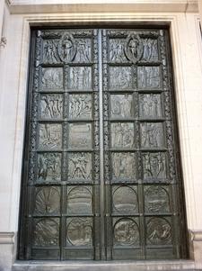 Left Hand Bronze Doors