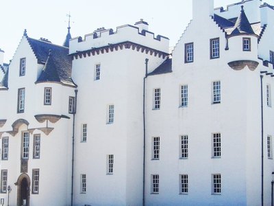 Left Side View Of  Blair Castle