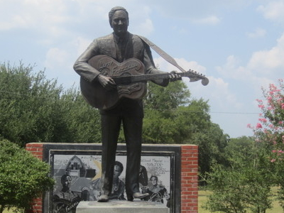 Lefty  Frizzell Statue  Corsicana