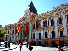 Legislative Palace Of Bolivia.