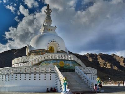 Leh - Shanti Stupa - Ladakh J&K