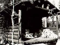 Leigh Lake Ranger Patrol Cabin
